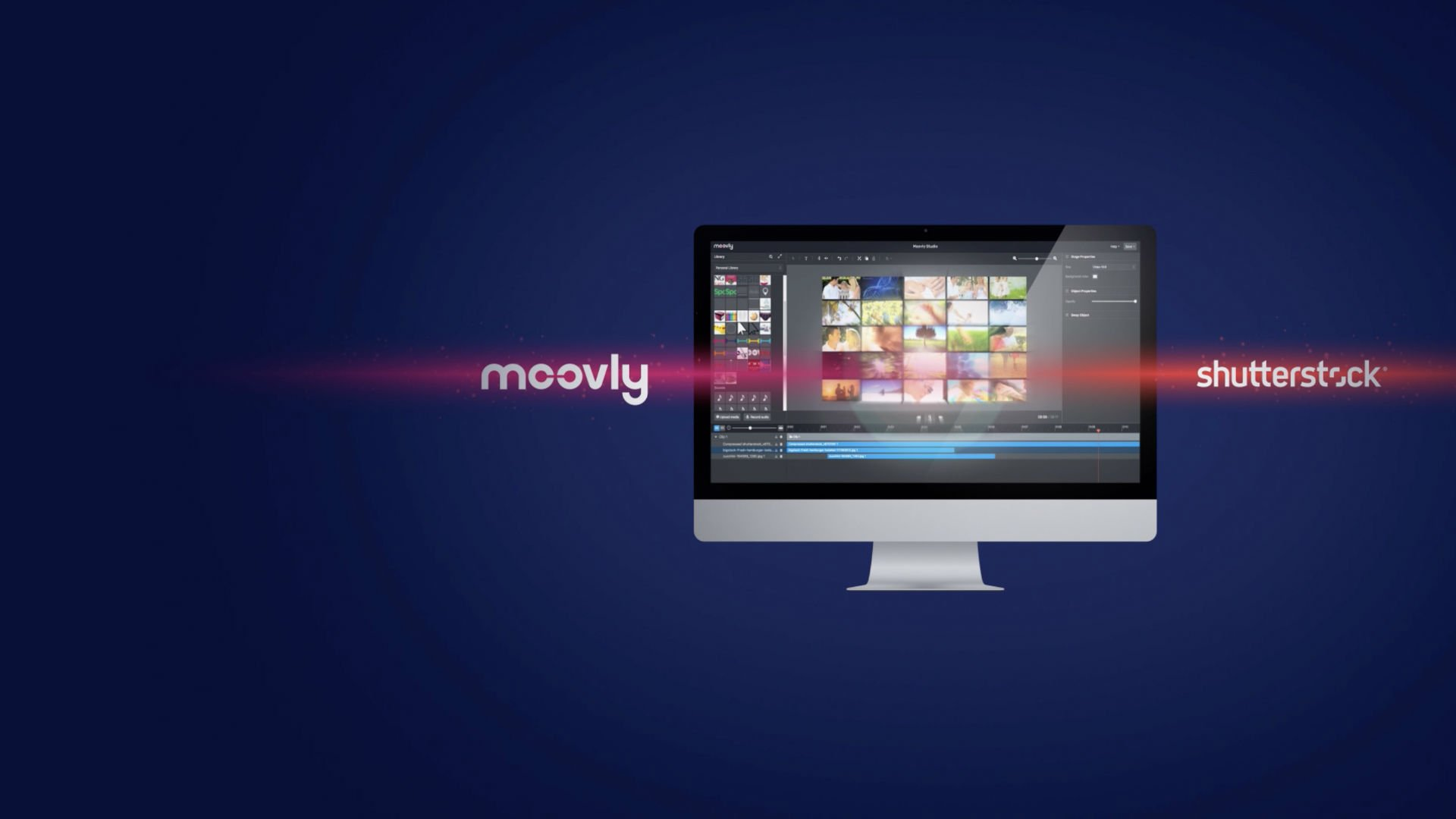 Moovly Shutterstock Collaboration for Video Content
