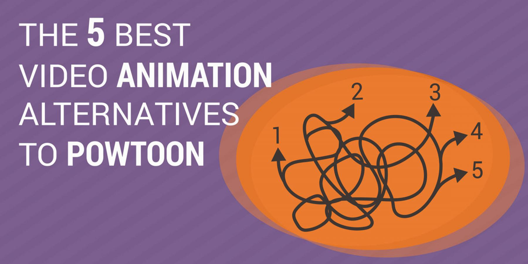The 5 best video animation alternatives to Powtoon