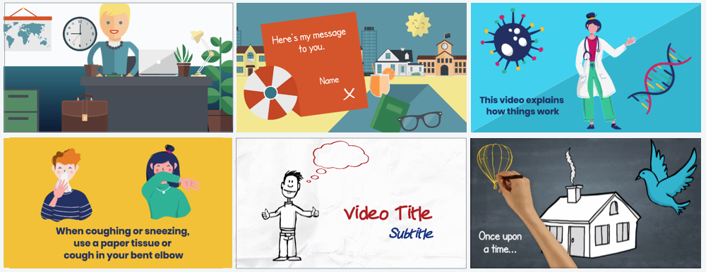 Create Your Own Free Animation The Best Animated Video Maker Moovly Easily Make Videos Online